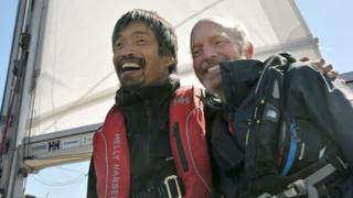 Mitsuhiro Iwamoto and Doug Smith