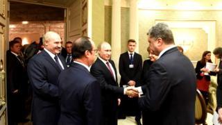 Порошенко та Путін