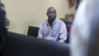 Ayo fayose inside Federal High Court, Lagos