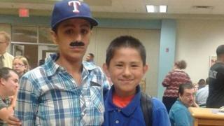 Yevette Vasquez and son Elijah