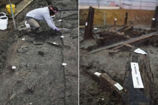 Bronze Age excavation at Must Farm