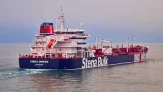 El Stena Bulk navegaba por el estrecho de Ormuz rumbo a Arabia Saudita.