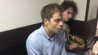 Александр Туровский в суде