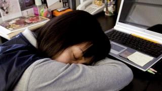 Сон за рабочим столом