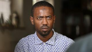 Muaz Ayimo from Ethiopia - he survived the sinking