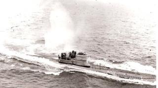 U-966 under attack, Nov 1943