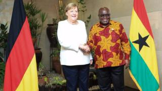 German Chancellor, Angela Merkel and