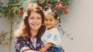 Shareen and her mum Lorraine