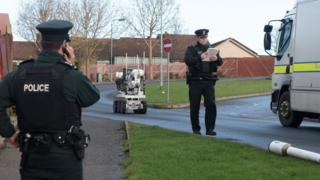 Part of Earhart Park in Londonderry was closed following the discovery of a suspicious object