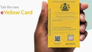 e Yellow card
