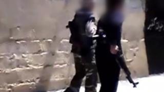 کودکانی که توسط داعش آموزش داده شدهاند