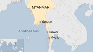 Ikarata yerekana igihugu ca Burma