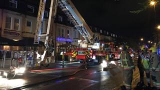 Fire in Jesmond