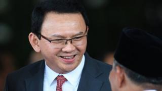 Ahok dalam pelantikan Presiden Joko Widodo pada tanggal 20 Oktober lalu.