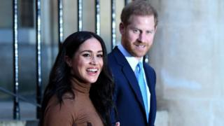 El príncipe Harry y Meghan.