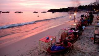 Закат в Камбодже