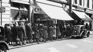 Queues in 1941