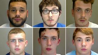 (Clockwise from top left) Alfredo Rojasvargas, Bradley McMillan, Tommy McKenzie, Dillon Zambon, Mark Moloney and Curtis Bradbury