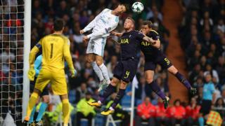 Ligue des champions : Real Madrid- Tottenham (1-1)