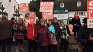 The Save Swindon's Libraries campaign