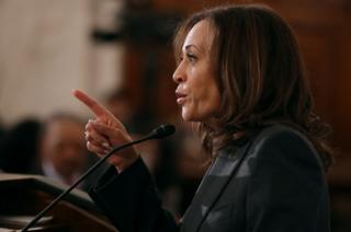 Kamala Harris and the US state looking to take down Trump
