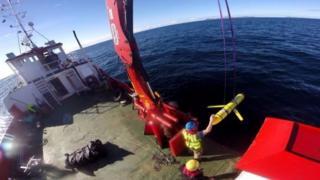 Mỹ nói thiết bị này (tương tự như trong ảnh) được dùng để kiểm tra nhiệt độ và độ mặn và độ trong của nước biển