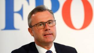 Özgürlük Partisi (FPO) milletvekili Norbert Hofer