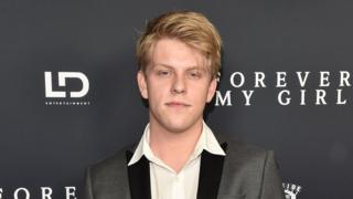 Actor and singer Jackson Odell attends the premiere of Forever My Girl in West Hollywood, California, on January 16, 2018