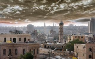 View of Aleppo