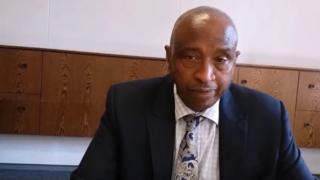 Justin Bahunga, umukuru w'inzibacyuho w'ishyaka FDU-Inkingi