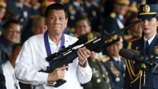 फिलिपिन्सचे अध्यक्ष रॉड्रिगो डुटर्टे