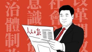 人民日报与习近平