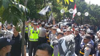 Pembubaran Ahmadyah di Bandung