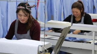 Chinese female workers