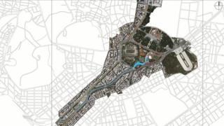Plan for developing River Ilisos, Athens, 2019