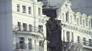Grand Hotel bomb in Brighton