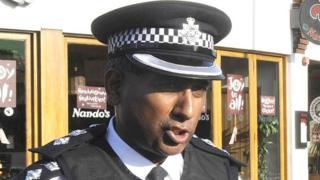 Dal Babu in police uniform