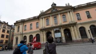 ساختمان محل برگزاری جلسه اعضای آکادمی سوئد برای تعیین برنده جایزه نوبل ادبیات