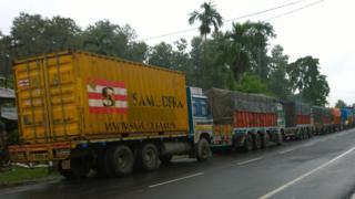 नेपाली ट्रक