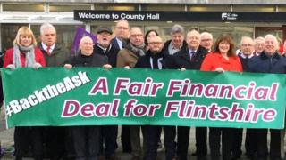 Flintshire councillors set off to lobby Welsh ministers