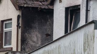 The fire was in the Ballycastle Road area of Coleraine