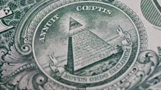Baadhi huamini michoro iliyo kwenye dola za Marekani ina uhusiano na Illuminati