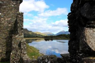 View from Kilchurn Castle