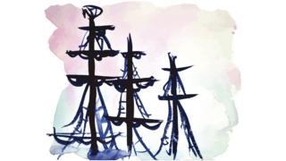 Velas de barco.
