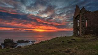 Slains Castle, Aberdeenshire.