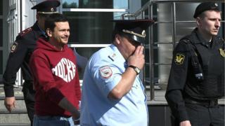 арестованный Яшин