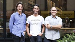 The three Sweetgreen founders
