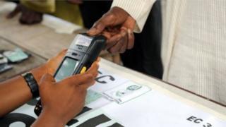 Person wey dey vote.
