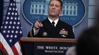 USA, Etats-Unis, Washington, DonaldTrump, Obama, RonnyJackson, David Shulkin