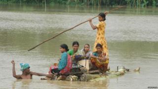 बंगाल बाढ़